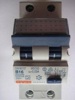 FI/LS 16A 30mA / 1+N  Gewiss  B16