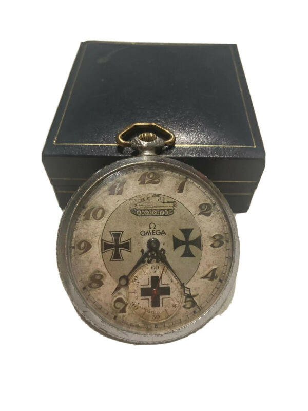 omega wwII 1943 Panzer watch
