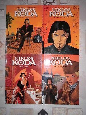 Niklos Koda - lot de 4 albums (n°1, 2, 3, 4) dont 3 EO