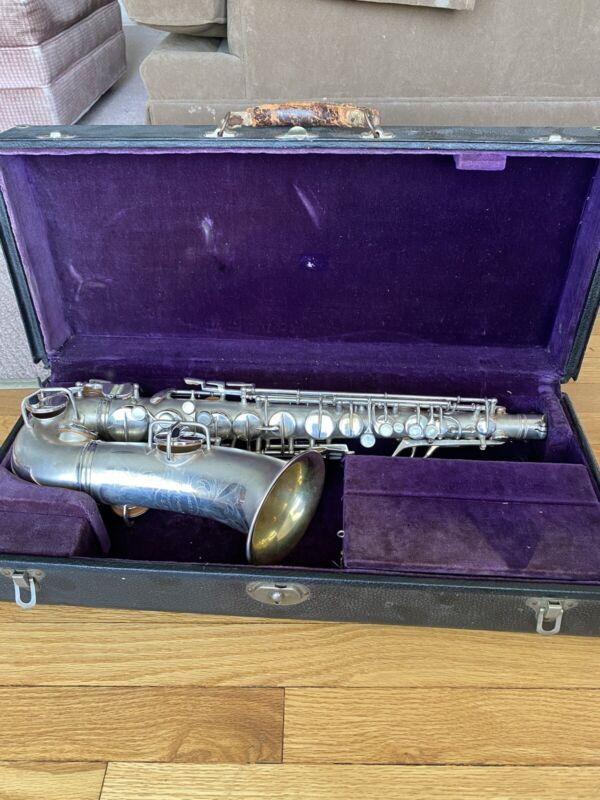"C.G. Conn New Wonder II Alto Saxophone ""Chu Berry"""