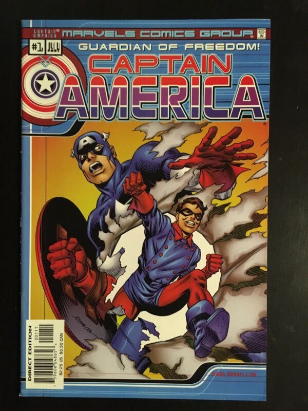 Captain America: Guardian Of Freedom #1 (Marvel) 1st Issue, Romita Cover