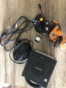 Black Nintendo GameCube accessories