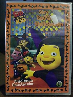 Sid the Science Kid: Sid's Spooky Halloween DVD New SEALED