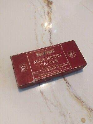Starrett Micrometer Caliper 230rl Vintage