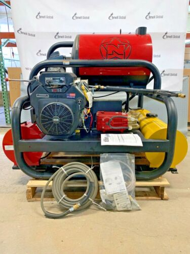 NorthStar Hot Water Commercial Pressure Washer Skid Unit 4,000 PSI, 7 GPM