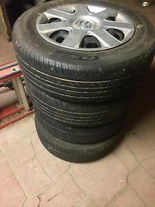 Mazda 3 tyres on steel rims Condon Townsville Surrounds Preview