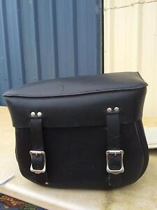 Leather motorbike saddle bags Wolvi Gympie Area Preview
