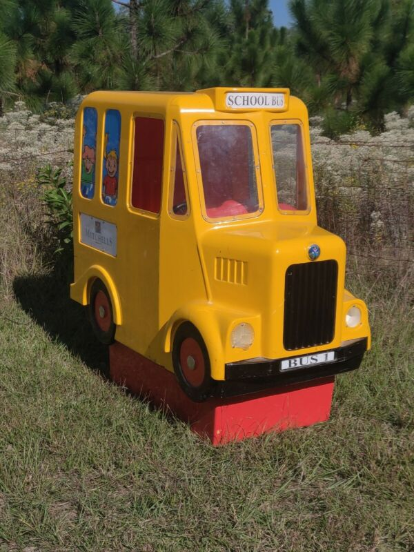 Mitchells Coin Operated School Bus Ride