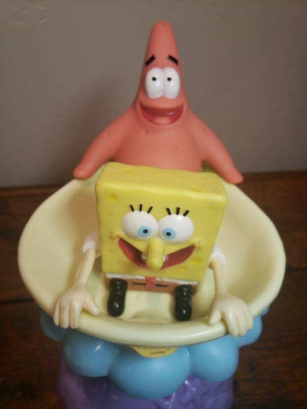 Vintage SpongeBob Sprinkler Spinning Rare