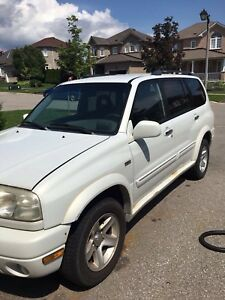 2002 Suzuki XL7 SUV, Crossover AS IS