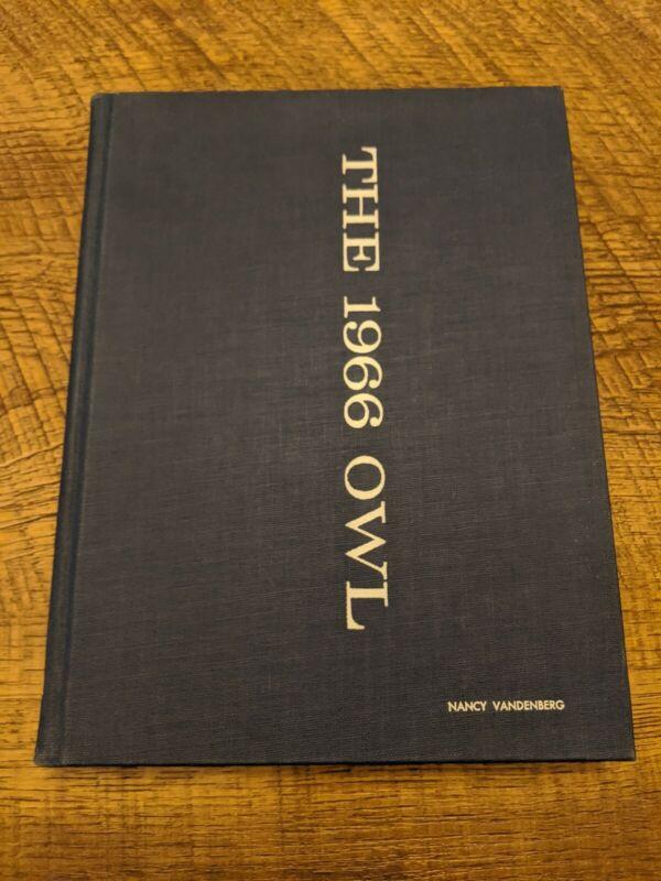 1966 University of Pittsburgh The Owl Yearbook Pennsylvania
