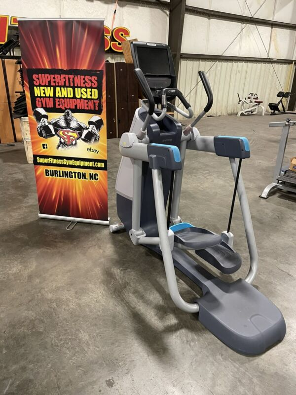 Precor AMT 885 with Open Stride Adaptive Motion Trainer P80 Touch Console