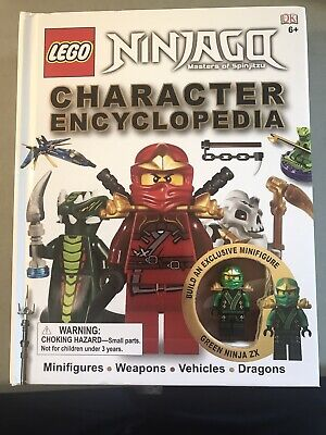 Lego Ninjago Character Encyclopedia by DK Publishing Staff (2012, Hardcover)
