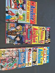 Lot of life with Archie comics