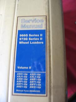 caterpillar 966g 972g vol 1 workshop service manual c2000 other rh gumtree com au Caterpillar 966 Specifications 980N Caterpillar