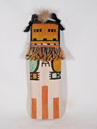 """STUNNING OLD STYLE HOPI INDIAN """"AHOL-MANA""""  KACHINA BY ARTIST BRIAN HOLMES"""