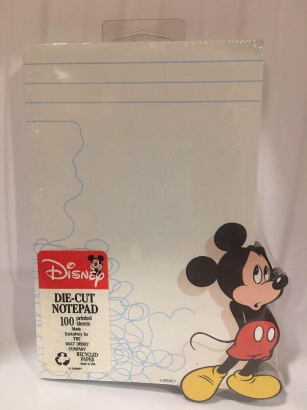 Disney Mickey Mouse Die-Cut Printed Sheet Note Pad