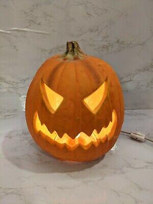 Halloween Light Up Jack O Lantern Pumpkin
