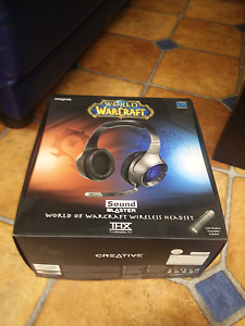 Creative sound blaster gaming wireless headset Spring Hill Brisbane North East Preview