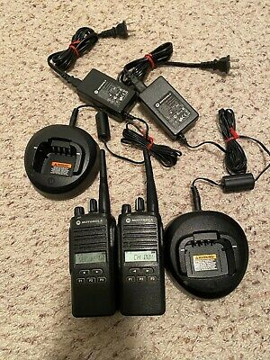 Motorola Cp185 Two Way Radio - 2 Units - Free Shipping
