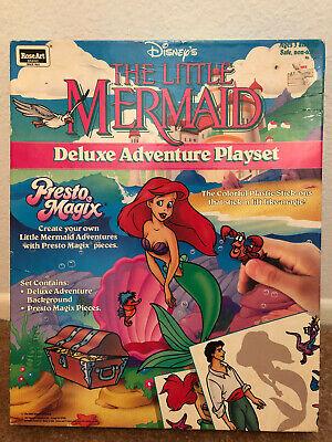 Disney Ariel Little Mermaid Presto Magix Deluxe Adventure Playset NEW Colorforms