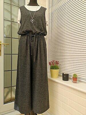 Uniqlo Grey Knit Jumpsuit Size M