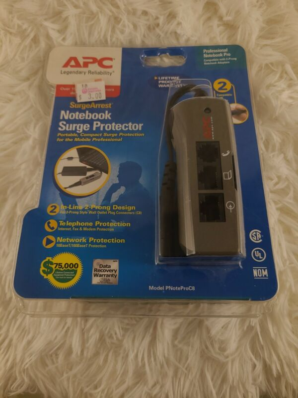 APC Notebook Surge Protector #PNOTEPROC8