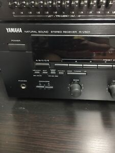 Yamaha 5.1 receiver with box and manual