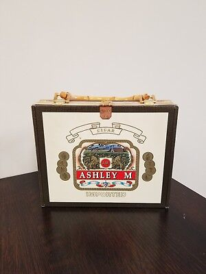 Ashley M Cigar Box Purse