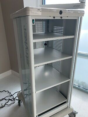 Stryker Endoscopy Medical Video Cart Rolling Cabinet Power Supply