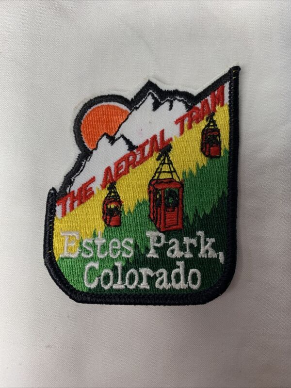 THE AERIAL TRAM Sew-on Patch ~ Estes Park Colorado