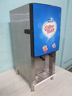 Silver King H.d. Commercial Refrigerated 2 Flavors Coffee Creamer Dispenser