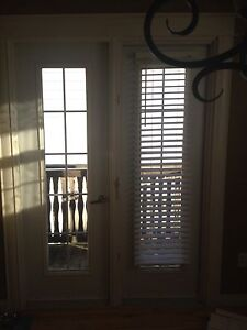 2 Patio Door Blinds (good set) with 4 magnets to hold