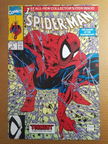 Spider-Man 1 Arachknight Marvel Comic Poster by Todd McFarlane