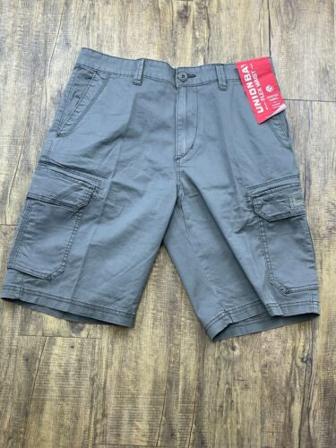 Unionbay Cargo Shorts Mens Quest Flex Waist 8 Pocket Cotton Comfort Short New