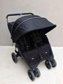 Valco snap duo double pram stroller