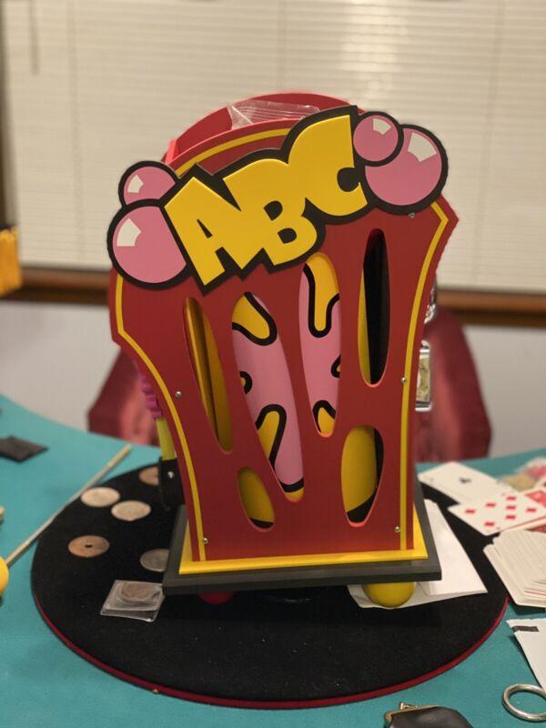 wolf magic ABC gumball machine
