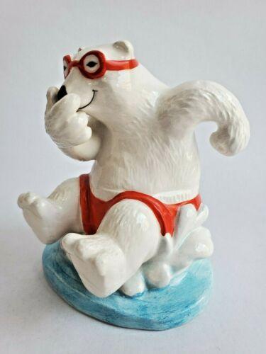 Coca Cola Polar Bear Enesco Figurine 1995