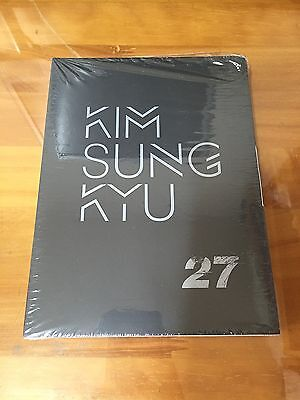 INFINITE Sungkyu 2nd Album 27 The Answer CD+PhotoBook Offici K-POP[No Photocard]