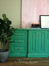 Green Dresser TV Unit Hallway Table Ovingham Charles Sturt Area Preview