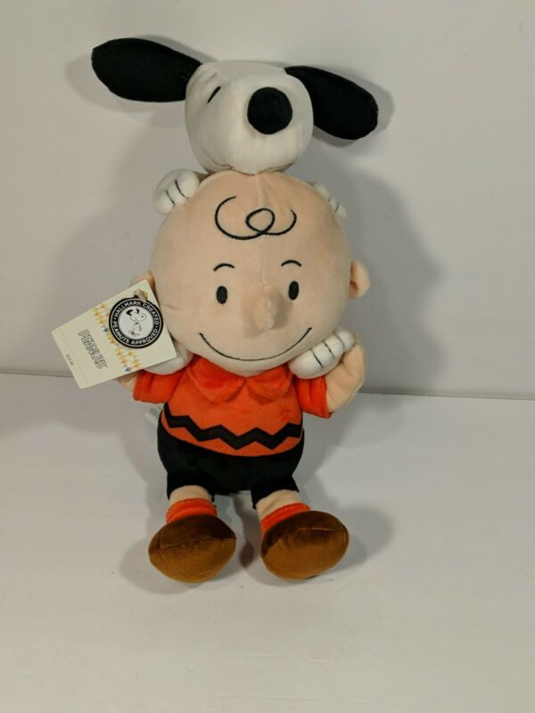 Peanuts Charlie Brown And Snoopy Together Plush by Hallmark