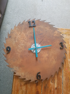 Old saw mill clock