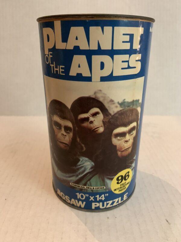 VINTAGE - Planet of the Apes Puzzle-Corneilus Zira Lucius Complete 1967 APJAC
