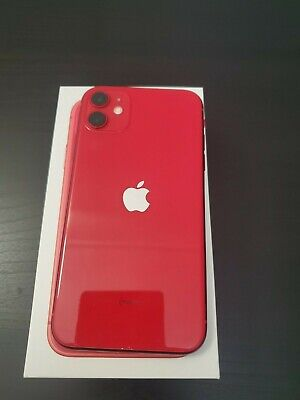 Apple iPhone 11 RED - 64GB (Spectrum) Less than 40 Hours Screen Time!! NEW!