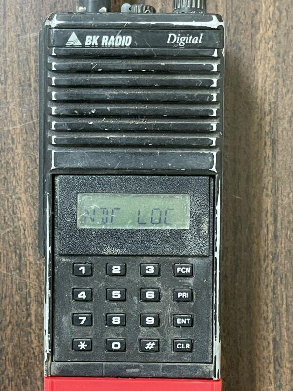 BENDIX KING / BK RADIO DPHX5102X P25 Digital Portable Handheld Radio - Read Disc