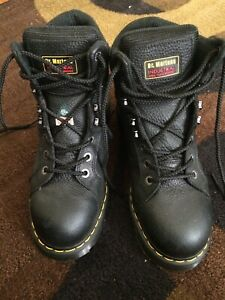 Dr. Marten  steel toe work boots