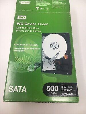WD Caviar Green 500GB Internal 7200RPM 3.5