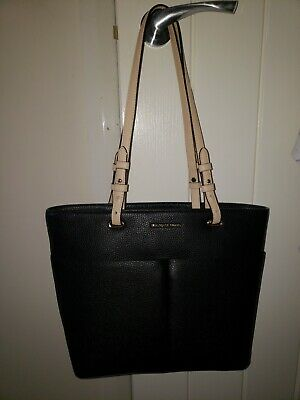 Michael Kors Black  Leather Bedford handbag Nearly New