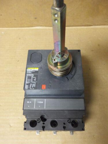 Square D HL HLL36060LV 060 3 Pole 60 Amp 600v Motor Control Circuit Breaker HLL