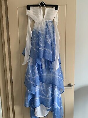 Pacha Ibiza Brand New With Tags Floaty Backless Dress Size M Rrp £50 Club Chill